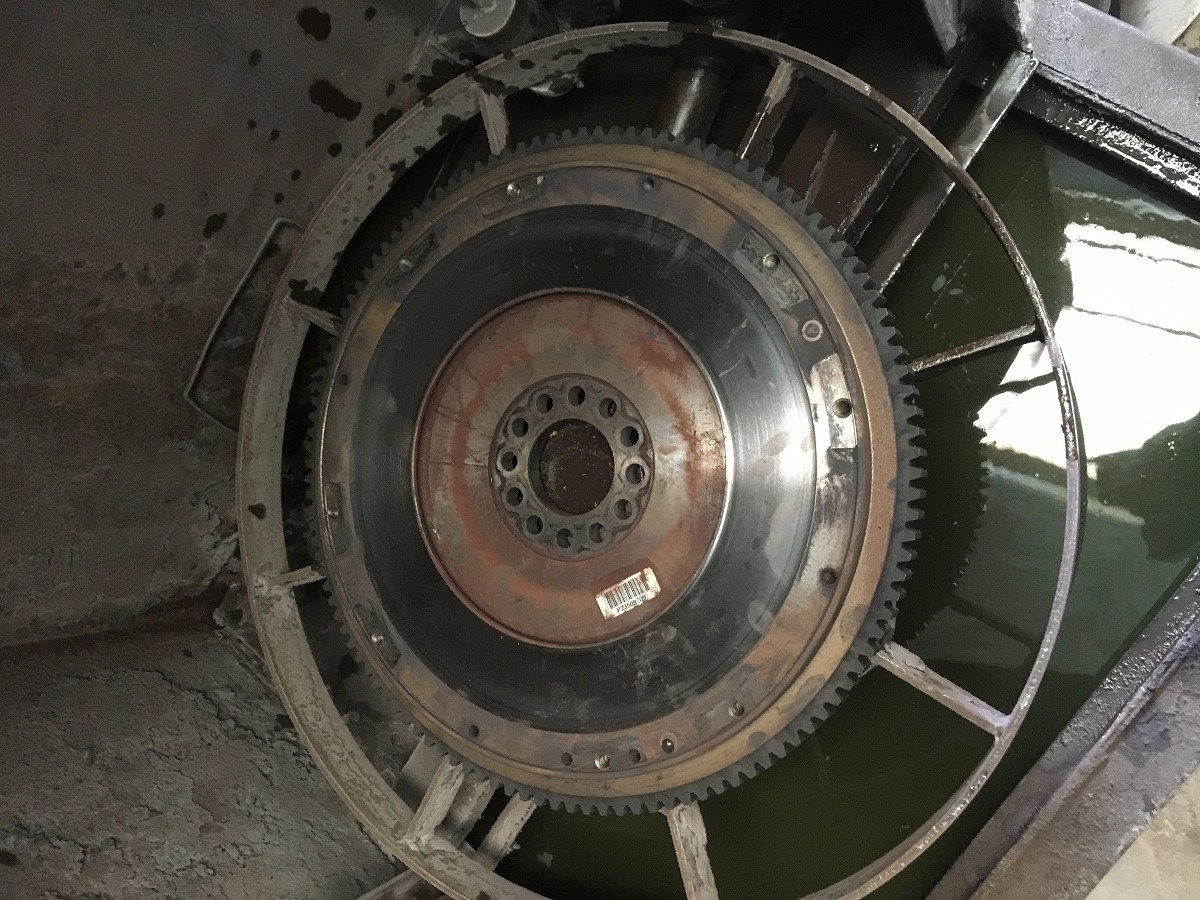 fly wheel before